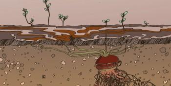 Samtidsdiagnose, oppsummering - illustrasjon Lisbeth Moen