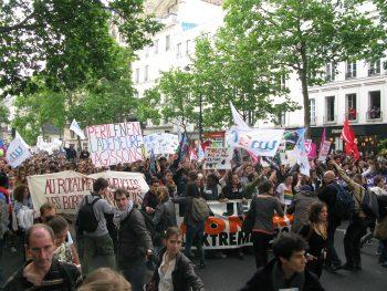 Demonstrasjon i Paris