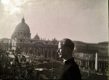 Edvard Vogt ved vatikanet