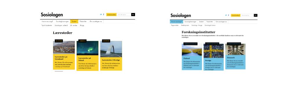 Sosiologi i de nordiske landene