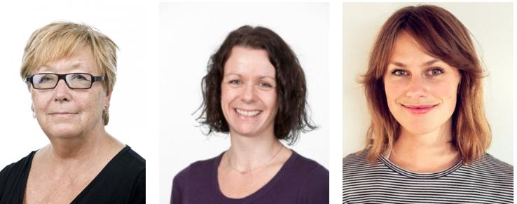 Bergljot Baklie, Kristin Buvik og Maren Toft er vinnerne av henholdsvis beste norskkspråklige og ikke-nordiskspråklige artikkel 2017.