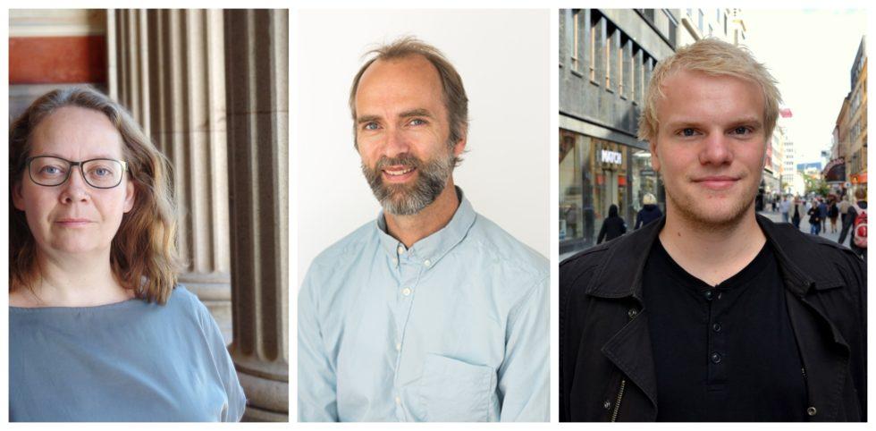 Portretter av Skilbrei, Hestholm og Rogne