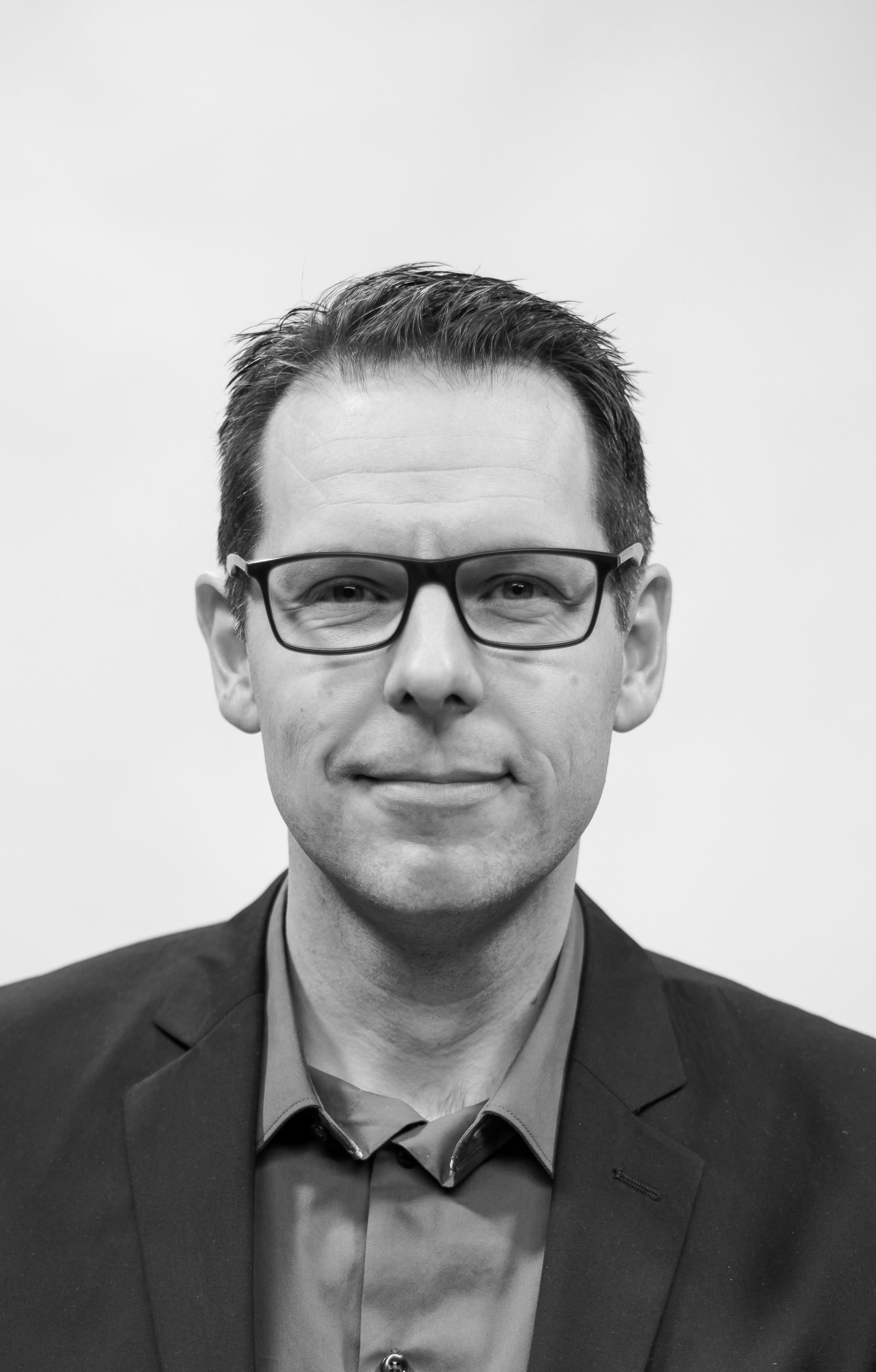 Portrett av Hans Erik Næss