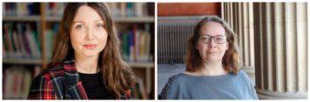 Portretter av Kari Stefansen og May-Len Skilbrei