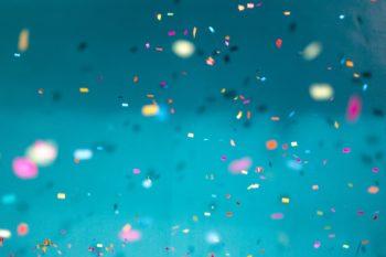 Bilde av konfettei