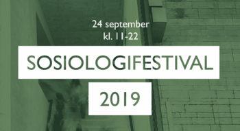 Sosiologifestivalen 2019