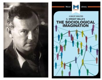 Mills og omslaget til Sociological Imagination