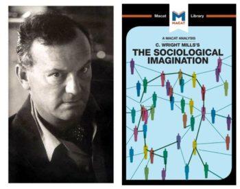 Mills og omslaget til Sociological Imagination