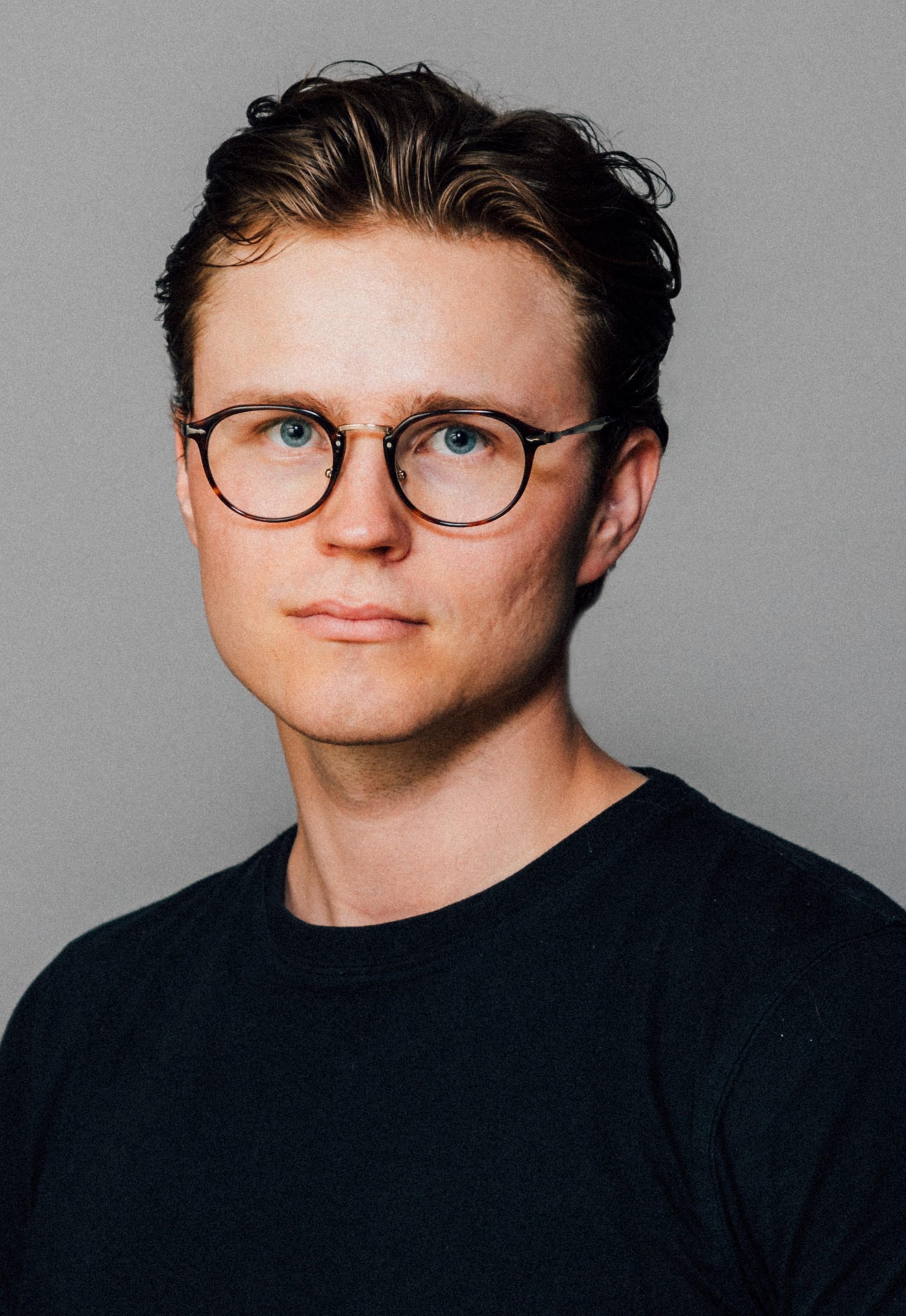 Fredrik Bedsvaag portrett farger
